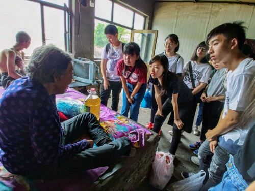 【消息】學生赴山西貧困地區體驗生活